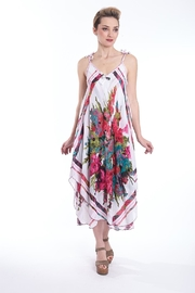 B&K moda Floral Print Dress - Product Mini Image