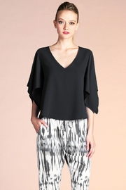 Tyche Handkerchief Sleeve Top - Product Mini Image