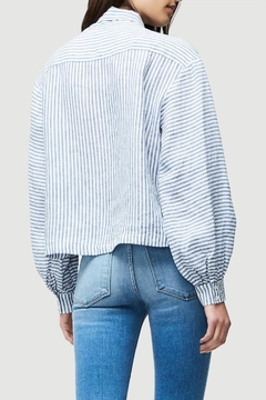 FRAME Denim Handkerchief Striped Blouse - Alternate List Image