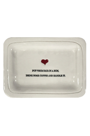 Honestly Goods Handle It Dish - Front cropped