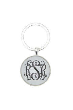 Shoptiques Product: Monogrammed Key Ring