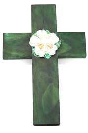 Nadya's Closet Handmade Green Cross - Product Mini Image