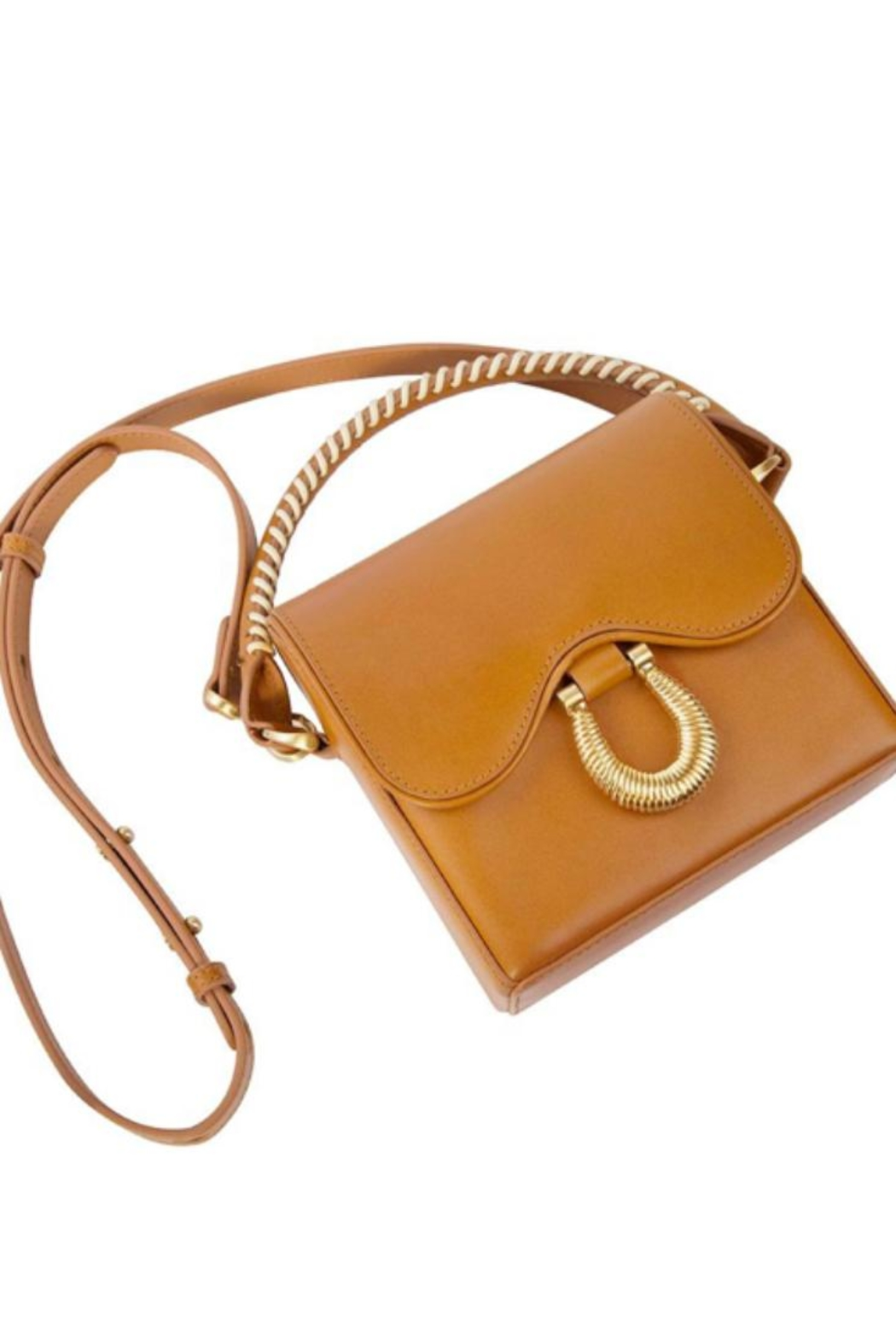 Sancia Handmade Leather Bag - Side Cropped Image