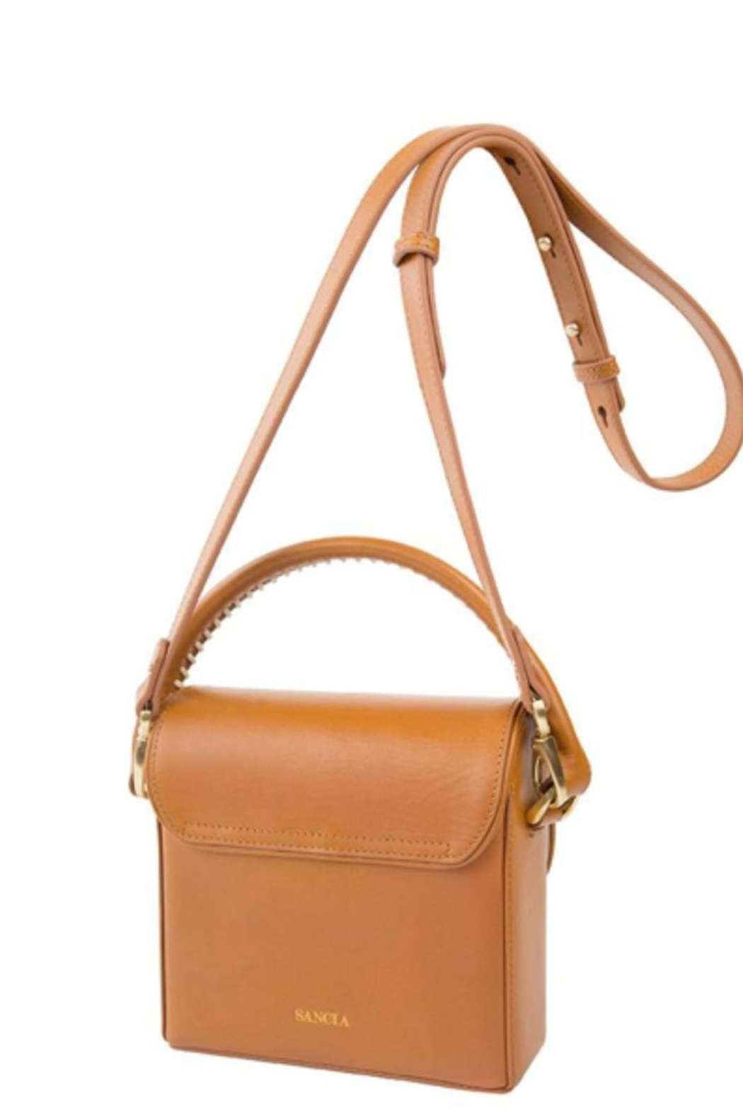 Sancia Handmade Leather Bag - Front Full Image