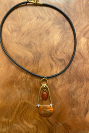 Whitney Howard Designs Handmade Multi Metal Pendant Necklace - Product Mini Image