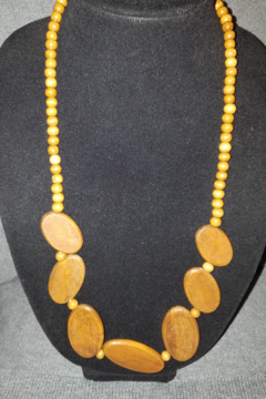 Hope With Hands Handmade Wooden Beaded Necklace - Product List Image