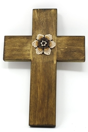 Nadya's Closet Handmade Wooden Cross - Product Mini Image