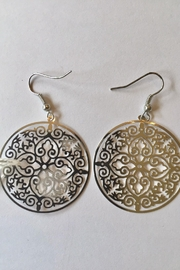 Handmade by local NY artist Designer Fashion Earrings - Product Mini Image
