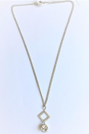 Handmade by local NY artist Designer Luxurious Necklace With Swarovski Crystal Pendant - Product Mini Image