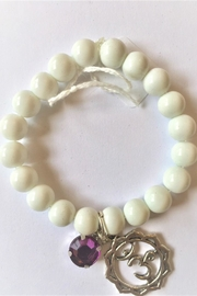 Handmade by local NY artist Om Charm Beads Bracelet - Product Mini Image