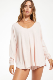 z supply Hang Out Long Sleeve Top - Front cropped