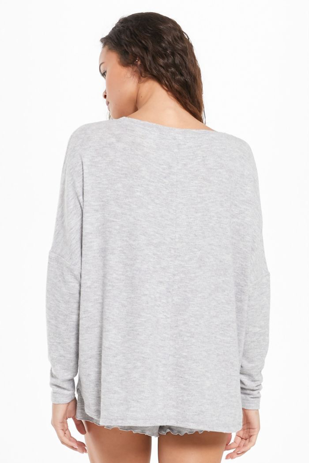 z supply Hang Out Long Sleeve Top - Front Full Image