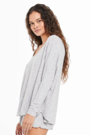 z supply Hang Out Long Sleeve Top - Side cropped
