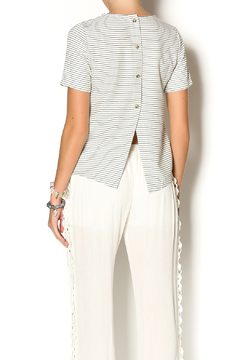 Hanger Boxy Stripe Top - Alternate List Image