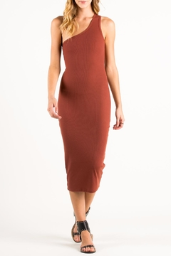 Shoptiques Product: One Shoulder Bodycon Dress