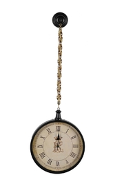 A&B Home Hanging Clock Fob - Front cropped
