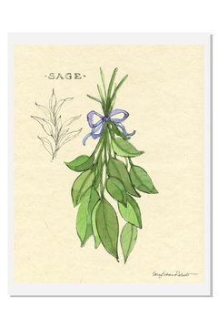 Sally Eckman Roberts Hanging Sage Print - Alternate List Image