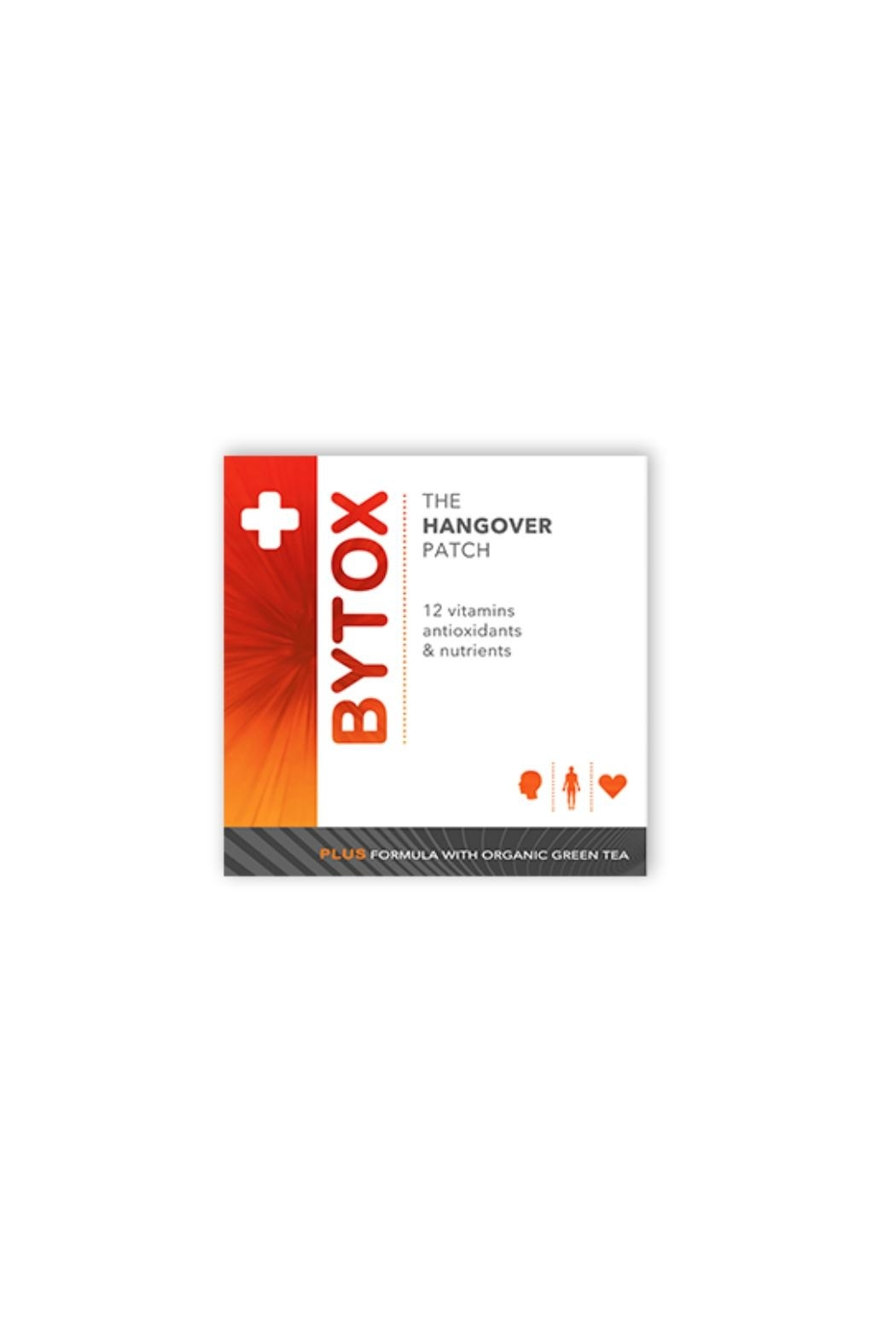 Bytox Hangover Prevention Patch - Front Cropped Image