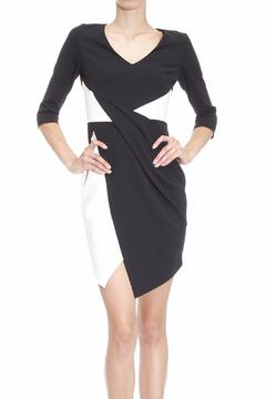 Shoptiques Product: Black And White Dress