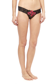 Hanky Panky Floral Low-Rise Thong - Product Mini Image