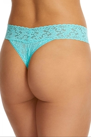 Hanky Panky Aqua Original-Rise Thong - Side cropped