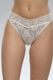 Hanky Panky Best Lace Thong - Product Mini Image