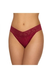 Hanky Panky Best Lace Thong - Front cropped