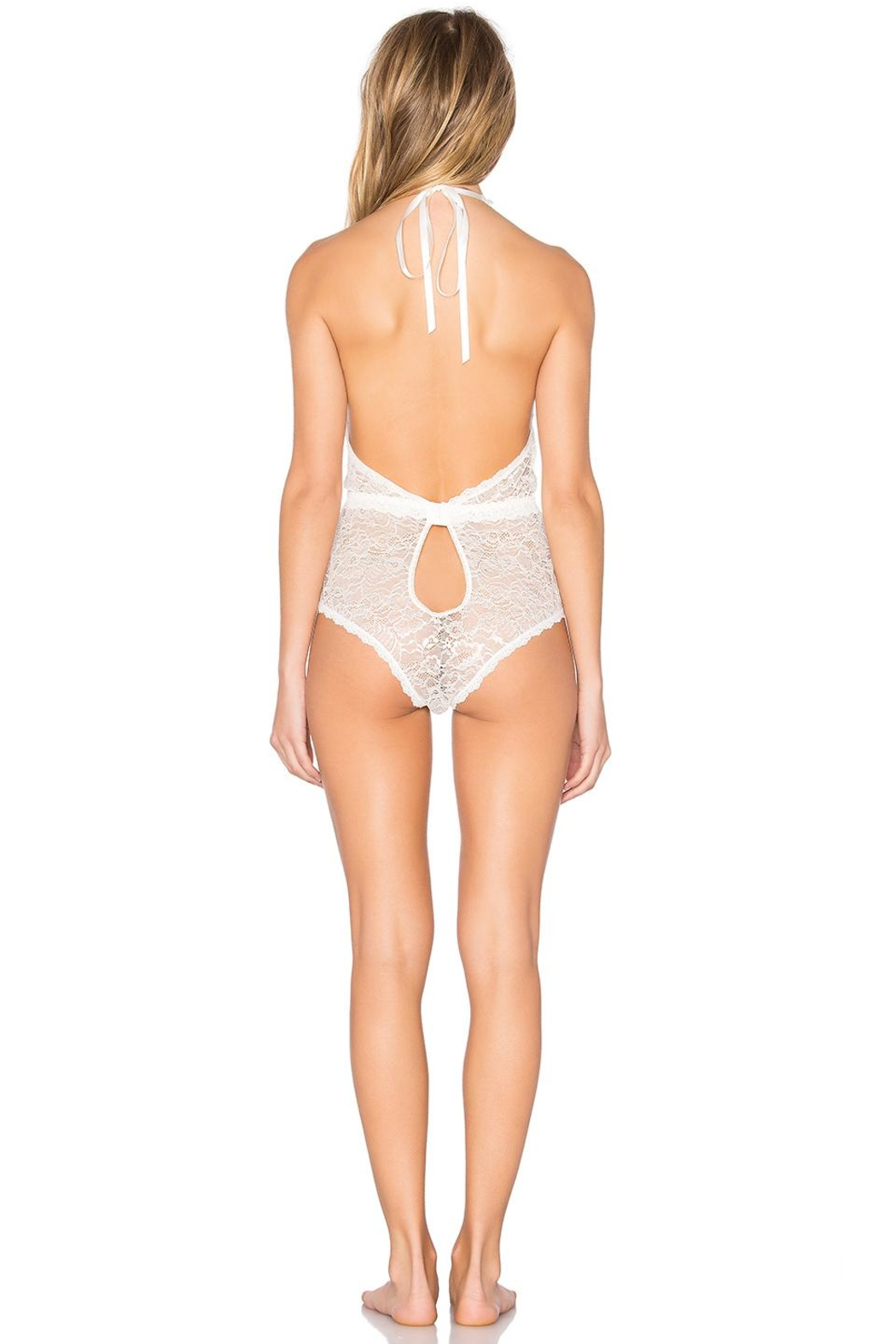 Hanky Panky Halter Lace Plaything - Front Full Image