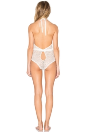 Hanky Panky Halter Lace Plaything - Front full body