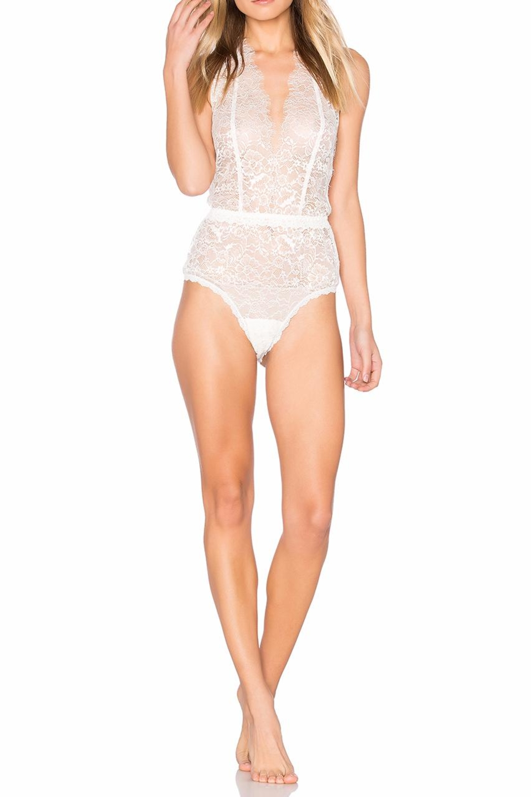 Hanky Panky Halter Lace Plaything - Main Image