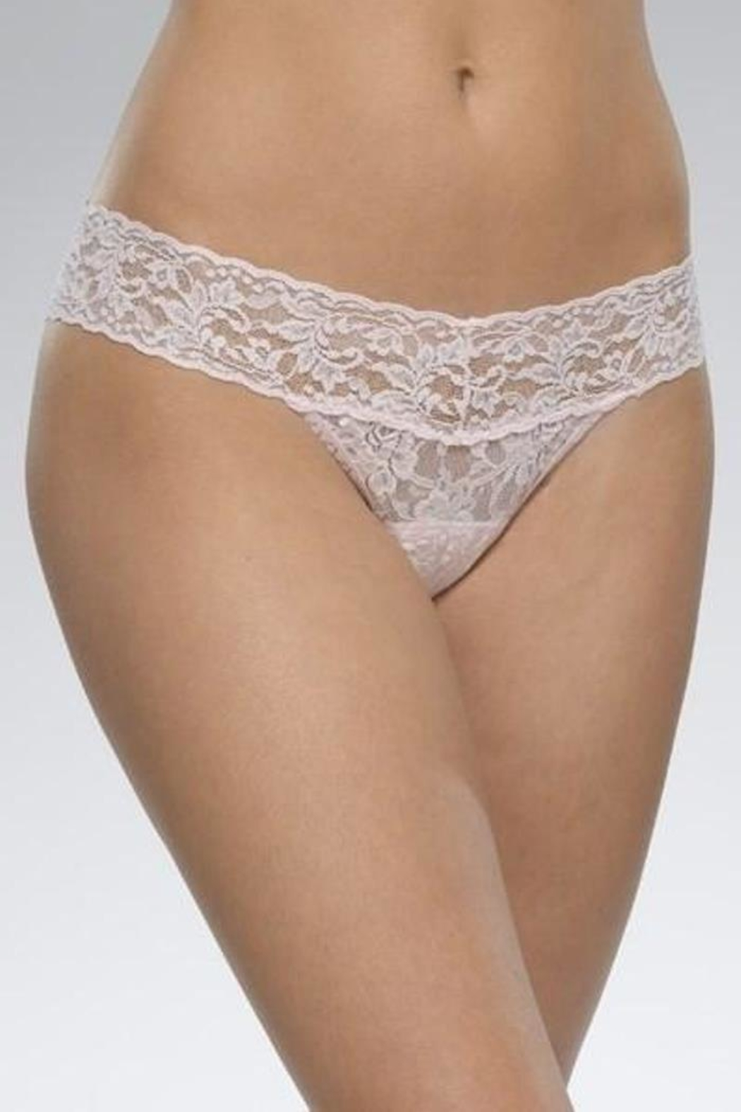 Hanky Panky Lace Lowrise Thong - Front Cropped Image