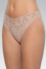 Hanky Panky Lace Thong - Front cropped