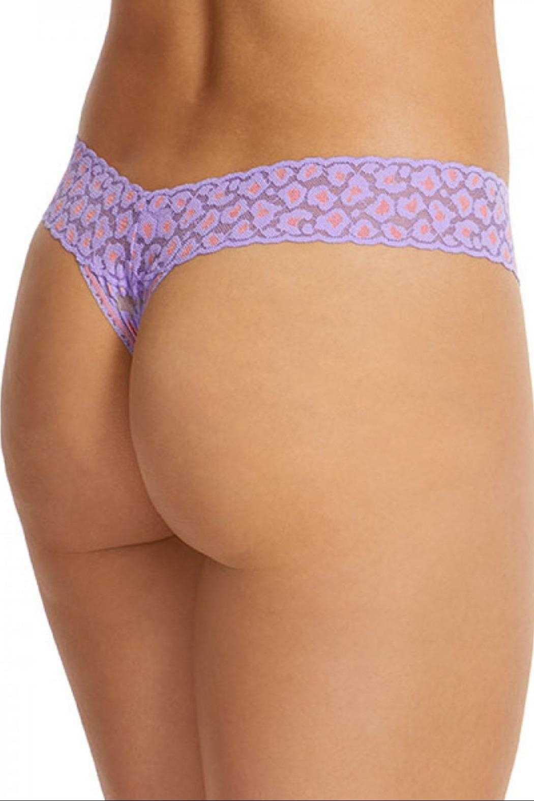 Hanky Panky Leopard Low-Rise Thong - Side Cropped Image
