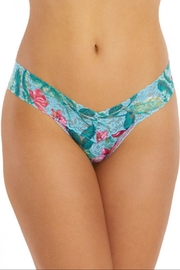 Hanky Panky Moonflower Low-Rise Thong - Front full body