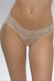 Hanky Panky Nude Low-Rise Thong - Front cropped