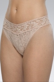 Hanky Panky Nude Original-Rise Thong - Front cropped