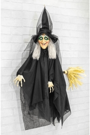 Hanna's Handiworks Hanging Animated Witch - Product Mini Image