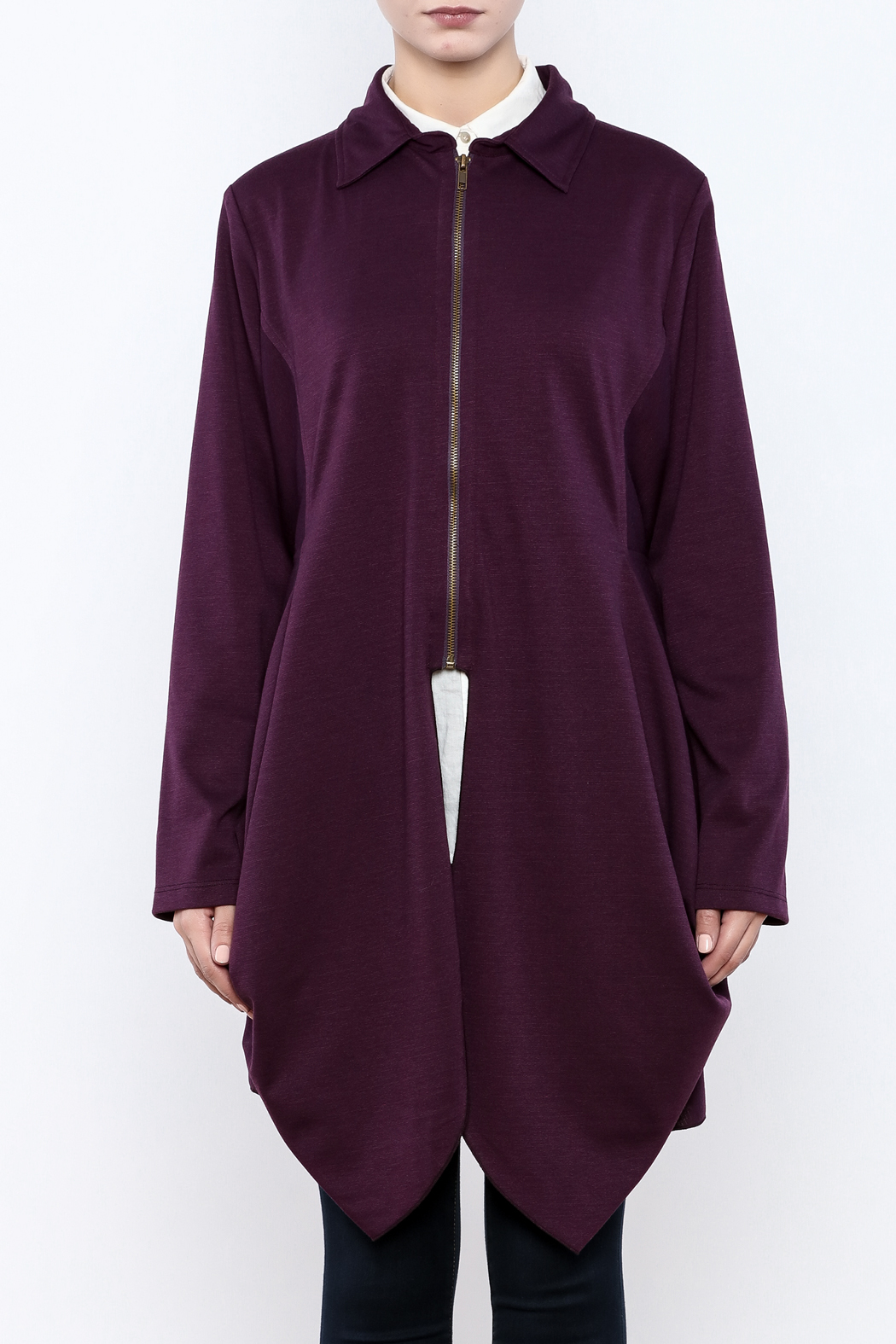 Hanna Zip Jacket - Side Cropped Image