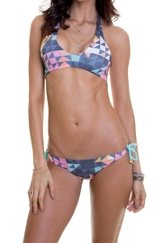 Maylana Swimwear Hannah Assymetricdiamonds Top - Product Mini Image