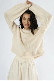 Girl in the Sun Hannah Knit Sweater - Product Mini Image