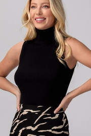 Trend:notes Hannah Sleeveless Turtleneck - Product Mini Image