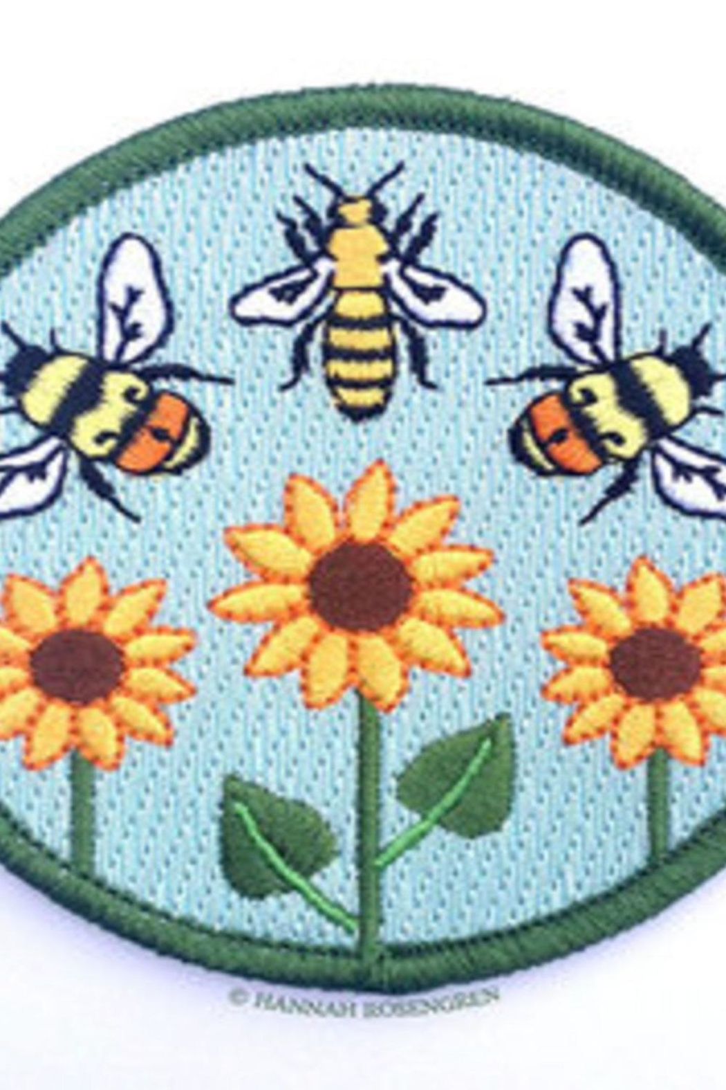 Hannah Rosengren Embroidered Patch - Main Image