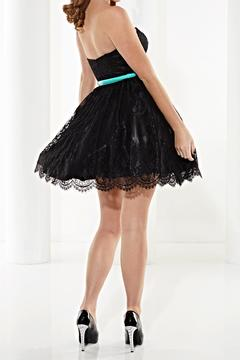 Shoptiques Product: Lace Strapless Dress