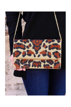 Shoptiques Product: Hannon Leopard Beaded Bag