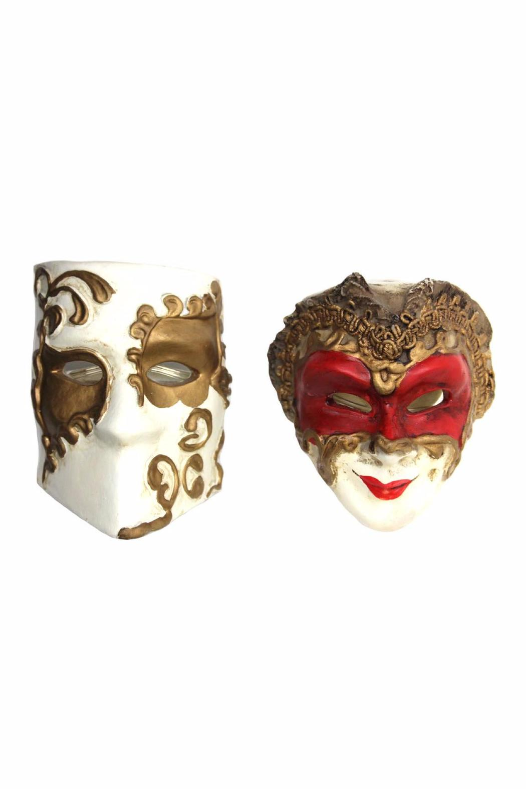 Hans Turnwald Mask Napkin Rings - Front Cropped Image