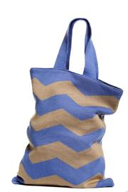 Hansel from Basel Chevron Knit Tote - Product Mini Image