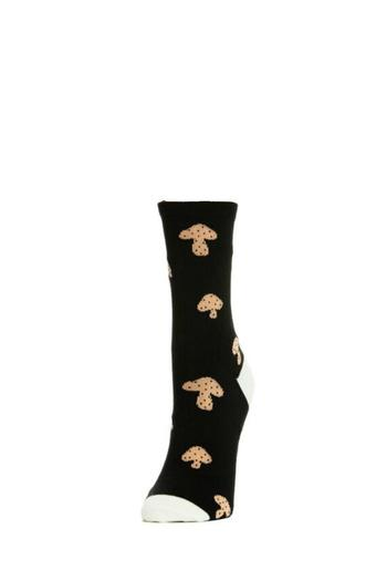 hansel from basel mushroom crew socks from canada by. Black Bedroom Furniture Sets. Home Design Ideas