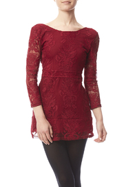 Haoduoyi Red Lace Dress - Product Mini Image