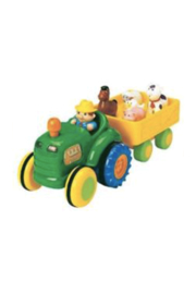 Kidoozie Toys Funtime Animal Tractor - Front cropped