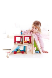 Hape Geometrics Doll House - Front full body